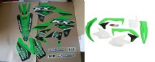 New KXF 450 16 17 18 PTS4 Graphics Sticker Plastic Kit Green Plastics KXF450